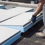 Plat dak laten isoleren